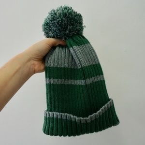 Authentic HARRY POTTER Slytherin Beanie/Hat (OS)